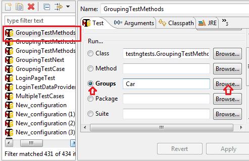 TestNG groups option