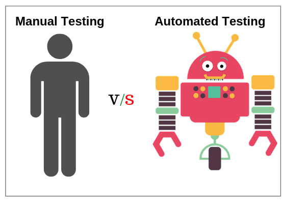 Difference between manual testing and automation testing