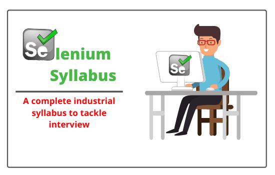 Selenium syllabus/topics