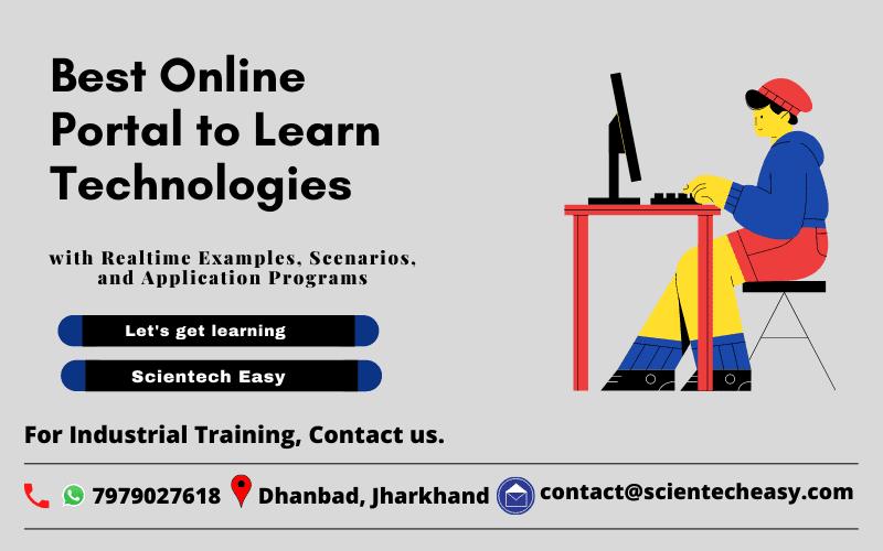 Best online portal to learn technologies by Scientech Easy