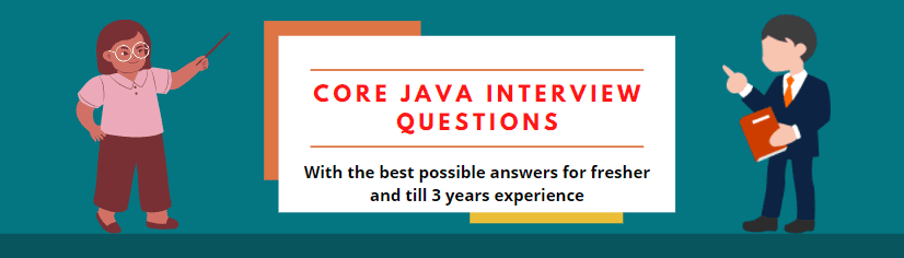 Core Java interview questions