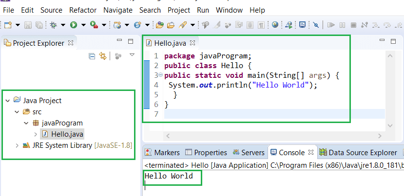 How to compile and run Java program in Eclipse