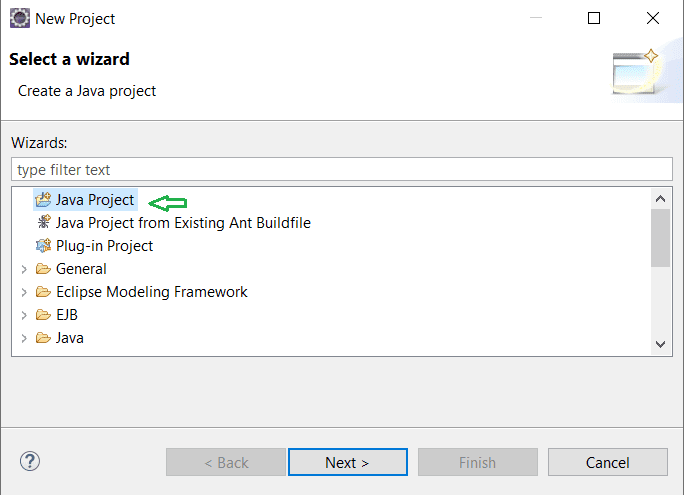 Creating Java project